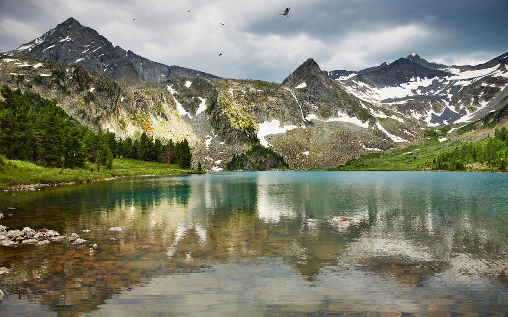 wallpaper amazing mountain lake - photo #37